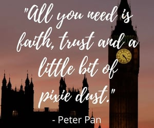 disney, peter pan, and quotes image