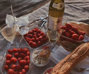 baguette, holiday, and apéro image