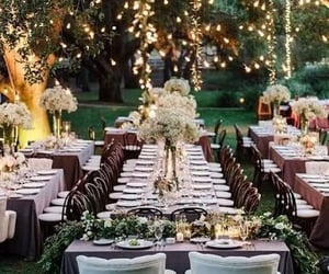 wedding, light, and party image