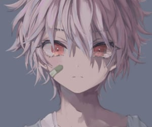 anime, flowers, and anime girls image