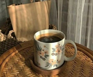morning and coffee image