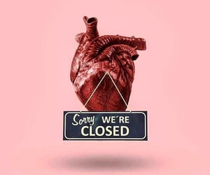 love, closed, and heart image