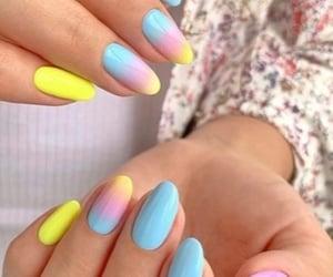 belleza, color, and moda image
