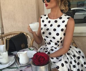 style, chic, and coffee image