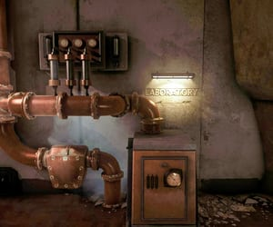 copper, gauges, and laboratory image