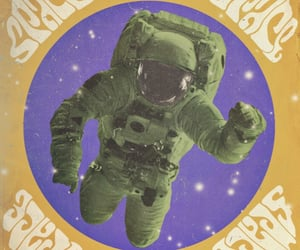 astronaut, graphic design, and graphics image