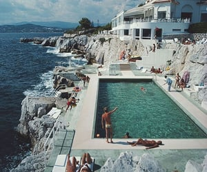 summer, pool, and sea image