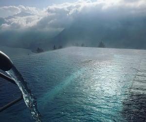 amazing, infinity pool, and sky image