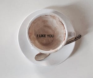 coffee, cup, and i like you image