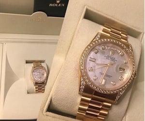 rolex, luxury, and diamond image