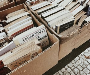 aesthetic, books, and used books image