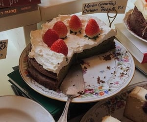 cake, bakery, and food image