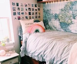 bedroom, design, and furniture image