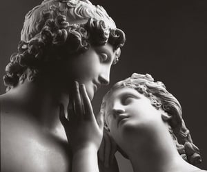 aesthetic, white, and aesthetic statue image