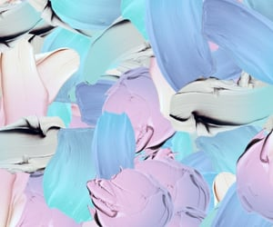 art, blue, and lilac image