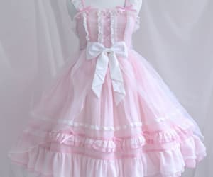 dress, lolita fashion, and outfit image