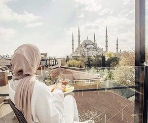 hijab, allah, and islam image
