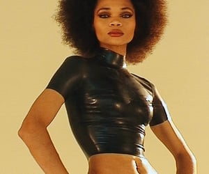 Afro, black, and girl image