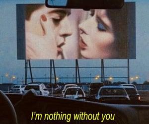 love, cinema, and car image