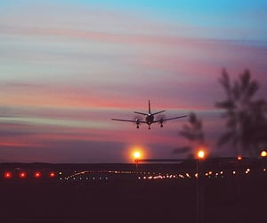 plane, travel, and beautiful image
