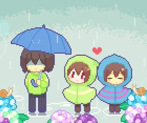 gif, deltarune, and kris image