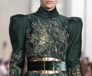 Couture, green, and model image