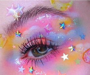 eyes, shine, and stickers image