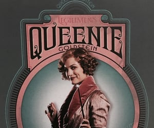 fantastic beasts, legilimens, and queenie image