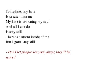 anger, drowning, and feelings image