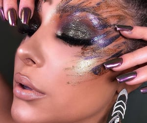 fashion, glitter, and glow image