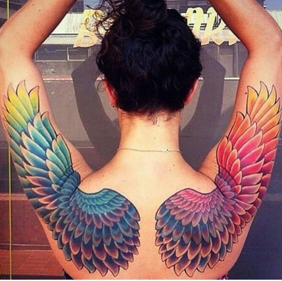 art, awesome, and wings image