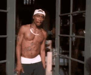 gang, tupac, and gif image