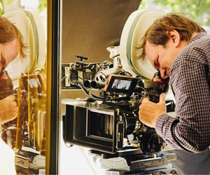 behind the scenes, quentin tarantino, and onceuponatimeinhollywood image