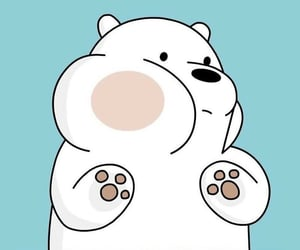 wallpaper, ice bear, and we bare bears image