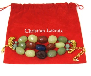 bracelet, vintage jewelry, and christianlacroix image