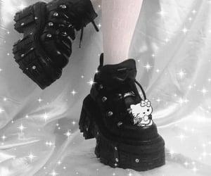 black, edgy, and fashion image