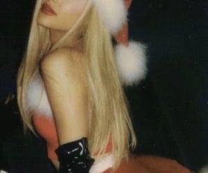 beautiful, thank u next, and christmas image