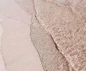beach, sand, and aesthetic image