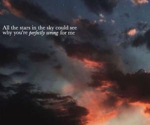 aesthetic, sky, and Lyrics image