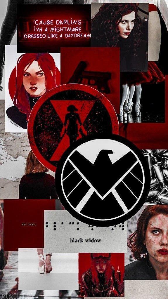 Black Widow Natasha Romanoff Aesthetic Wallpaper