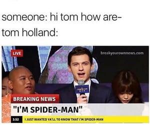 Marvel, meme, and spiderman image