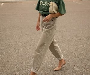 fashion, boss, and jeans image