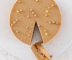 cake, caramel, and carmel image