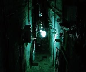 green, light, and dark image