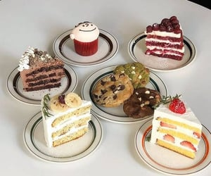 cakes, chocolate, and Cookies image