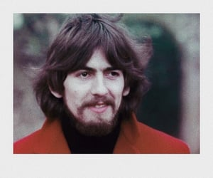 1967, george harrison, and red image