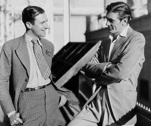 Cecil Beaton and Gary Cooper