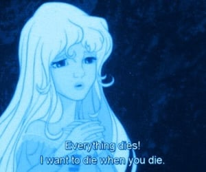 quotes, aesthetic, and anime image