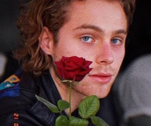 luke hemmings, 5sos, and rose image