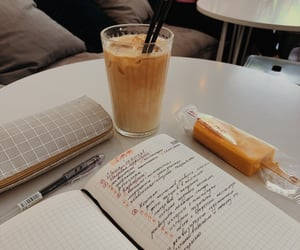 aesthetic, planner, and cafe image